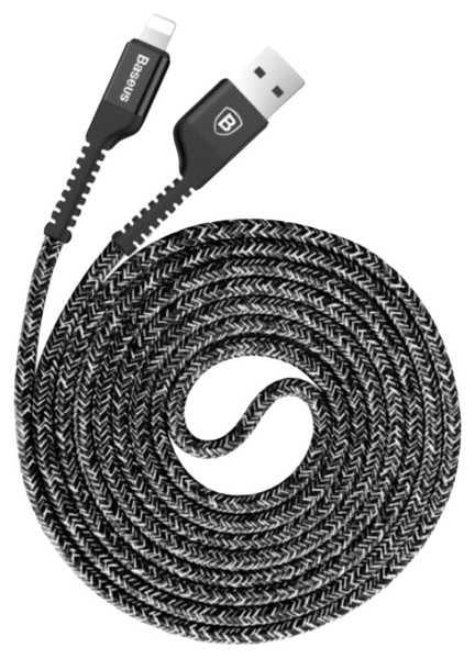 Кабель Baseus Usb Cable to Lightning Confidant Anti-break 1м