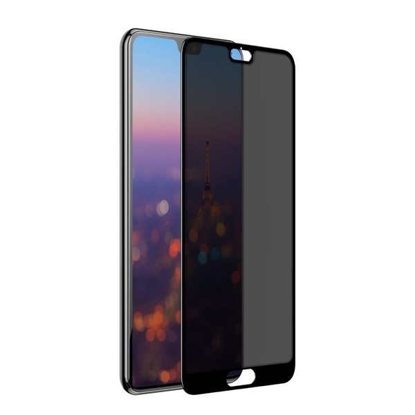 Baseus 0.3mm anti-spy curved-screen tempered glass screen protector For HUAWEI P20