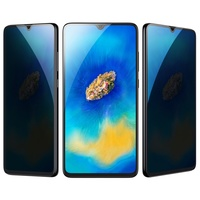 Baseus 0.3mm All-screen Arc-surface Anti-bluelight Tempered Glass Film For HUAWEI Mate20 X