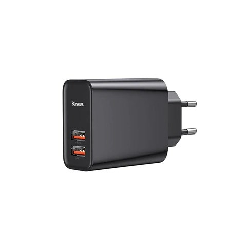 Baseus Speed Dual QC3.0 Quick charger USB+USB 30W
