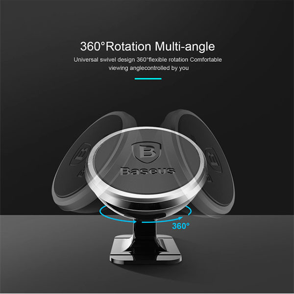 Магнитный держатель Baseus 360 Rotation Magnetic Mount Holder