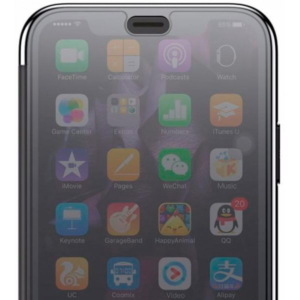 Чехол-книжка для iPhone XS Max с сенсорной крышкой Baseus Touchable Case