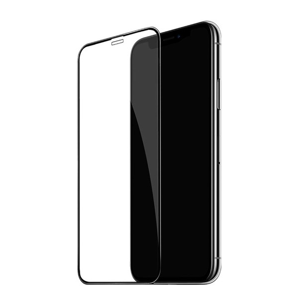 Baseus Full coverage curved tempered glass protector For iPhone XR