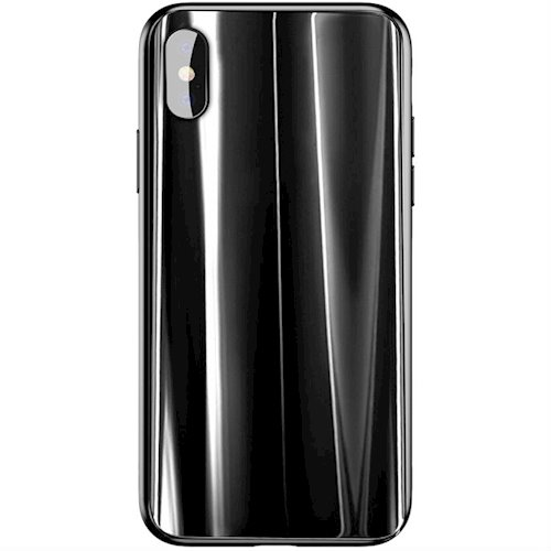 Baseus Glass Sparkling Case For iPhone X