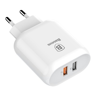 Baseus Bojure Series Dual-USB quick charge charger for EU 18W