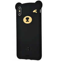 Чехол Bear Silicone Case для iPhone X/XS