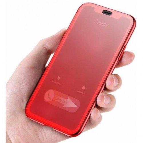 Чехол-книжка для iPhone X/XS с сенсорной крышкой Baseus Touchable Case