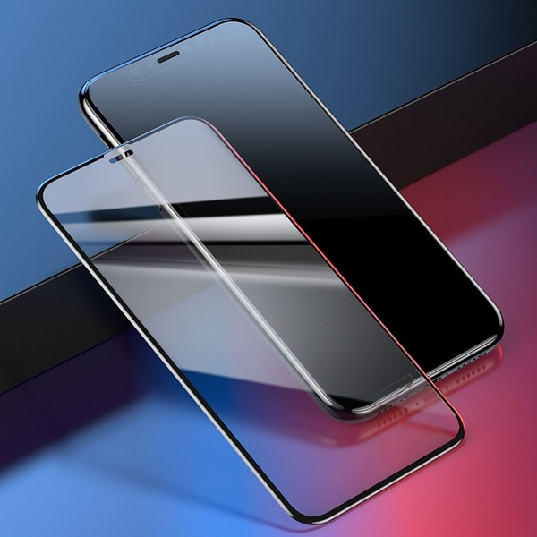 Baseus 0.23mm glass screen protector with crack-resistant edges and anti-blue light For iPhone XS Max