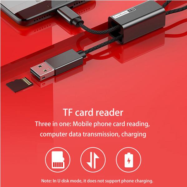Считыватель карт Baseus Pendant Card Reader