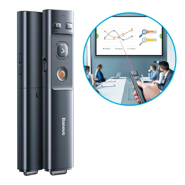 Беспроводная указка Baseus Orange Dot Wireless Presenter