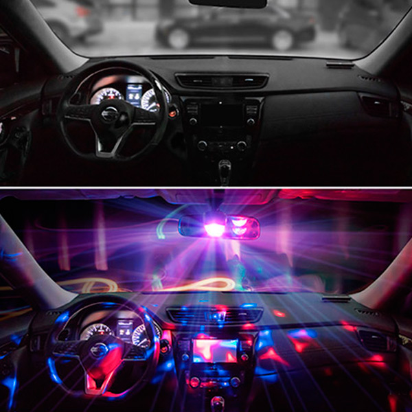 Baseus Car Crystal Magic Ball Light