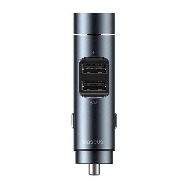 Автомобильное зарядное устройство Baseus Energy Column MP3 Charger (Wireless 5.0+5V/3.1A)