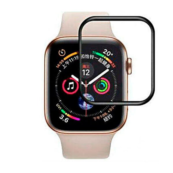 Защитное стекло Baseus 0.2mm Full-screen For Apple Watch series 4