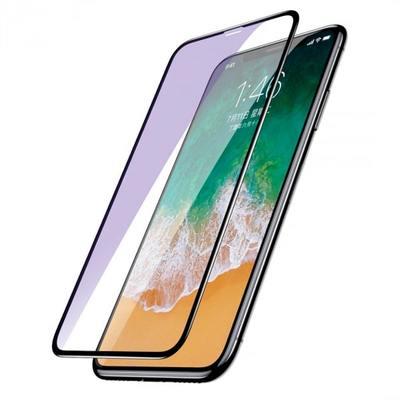 Защитное стекло Baseus Anti-break edge Anti-bluelight Film для Apple iPhone X