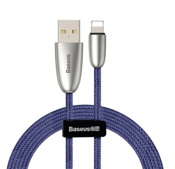 Кабель Baseus Torch Series Data Cable USB для IPhone 2.4A 1m