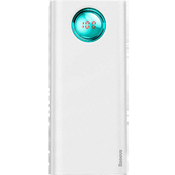 Baseus Ambilight Quick Charger Digital Display Power Bank PD3.0+QC3.0 20000mAh
