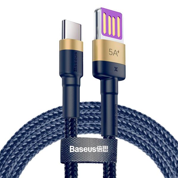 Кабель Baseus Cafule HW Quick Charging USB Blind Interpolation For Type-C