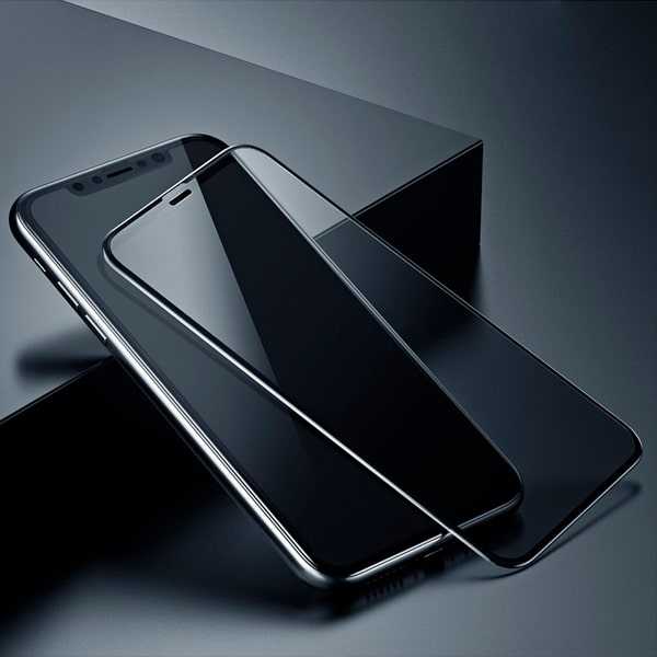 Защитное стекло Baseus curved-screen tempered anti-spy function для iPhone 6.1""