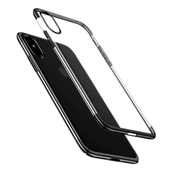 Baseus Platinum Metal Border Case для iPhone X