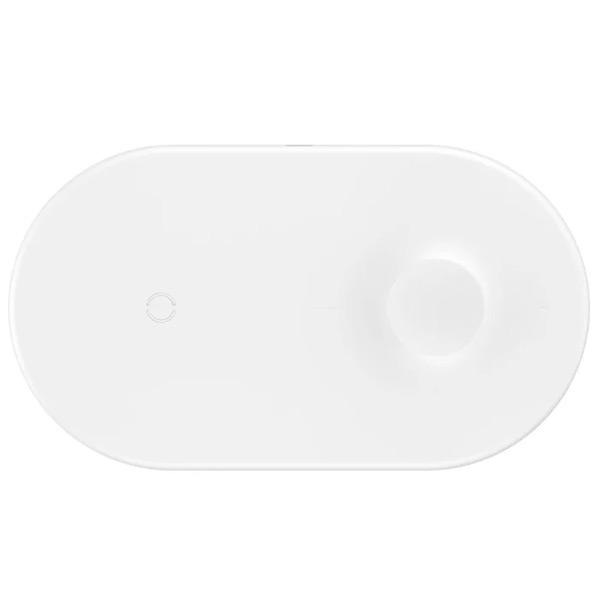 Беспроводная зарядка Baseus Smart 2in1 (кабель для iPhone)