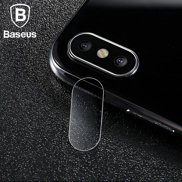 Baseus Camera lens glass film For iPhone X