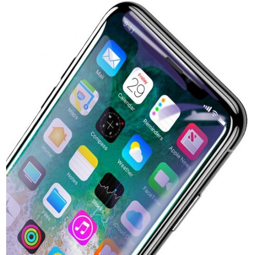 Защитное стекло Baseus PET Soft 3D Tempered Glass Film для iPhone X