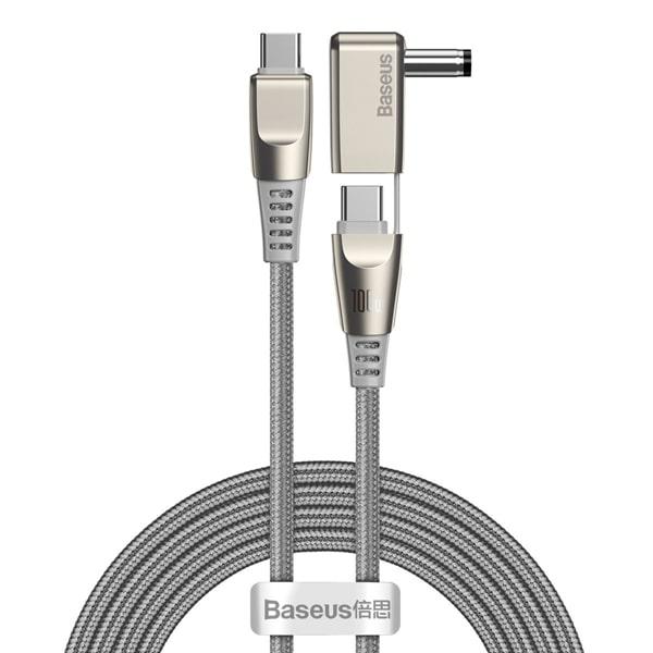 Кабель Baseus Flash Series 2-in-1 Fast Charging with Round Head Type-C 100W