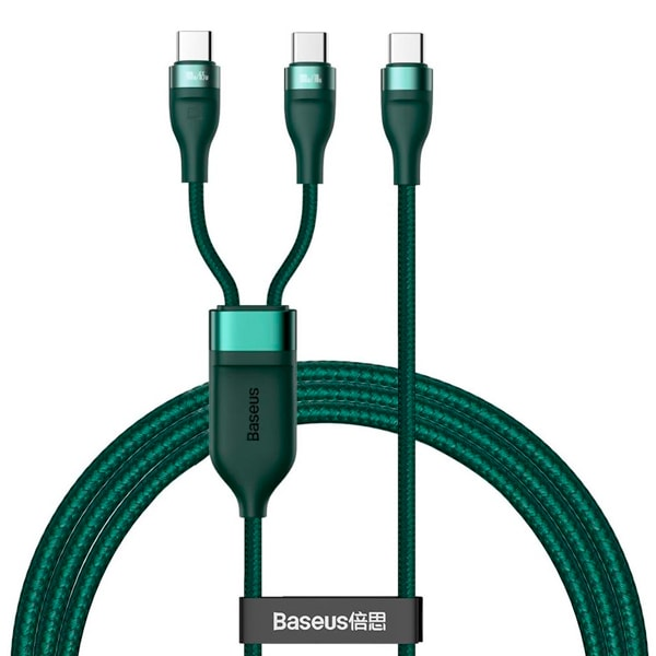 Кабель Baseus Flash Series One-for-two Fast Charging Data Cable