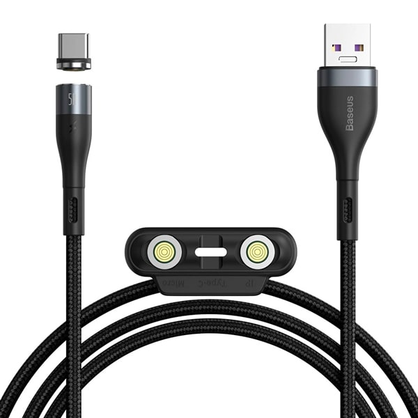 Кабель Baseus Zinc Magnetic Safe Fast Charging Data Cable