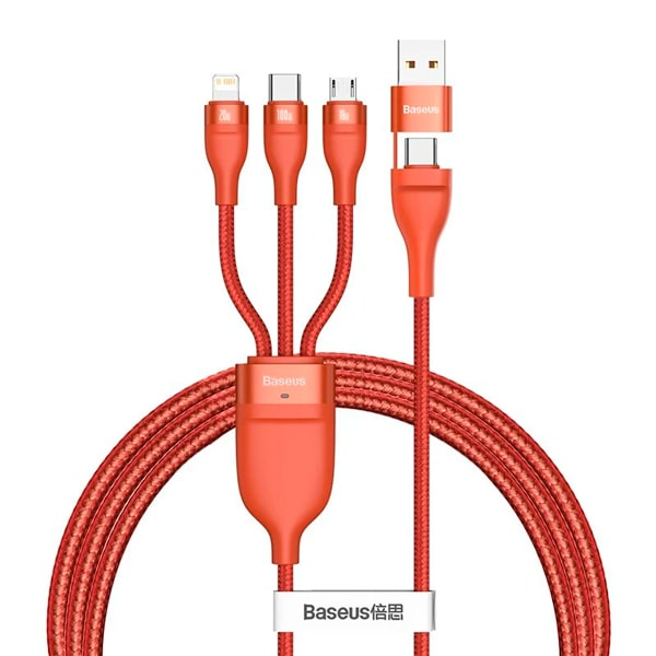 Кабель Baseus Flash Series Two-for-three Data Cable 100W