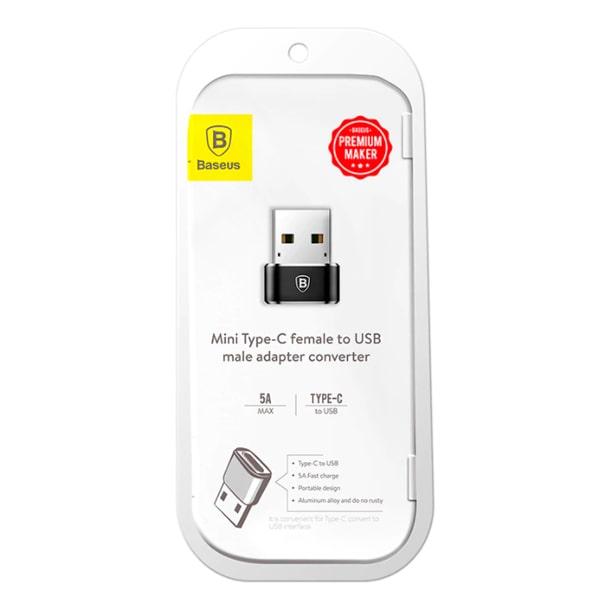 Переходник Baseus USB-C/USB Adapter CAAOTG-01