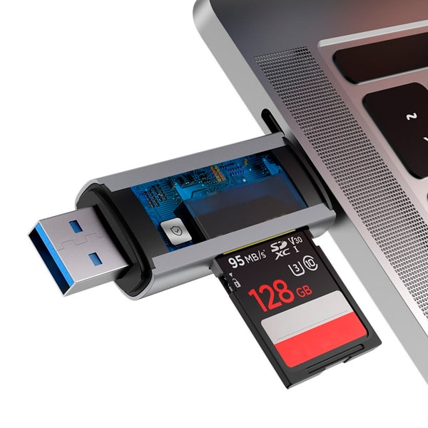 Картридер Baseus Lentil - Cabin card reader