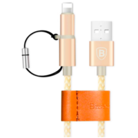 Кабель 2-in-1 Baseus Antila Series USB-microUSB, Lightning 1 М