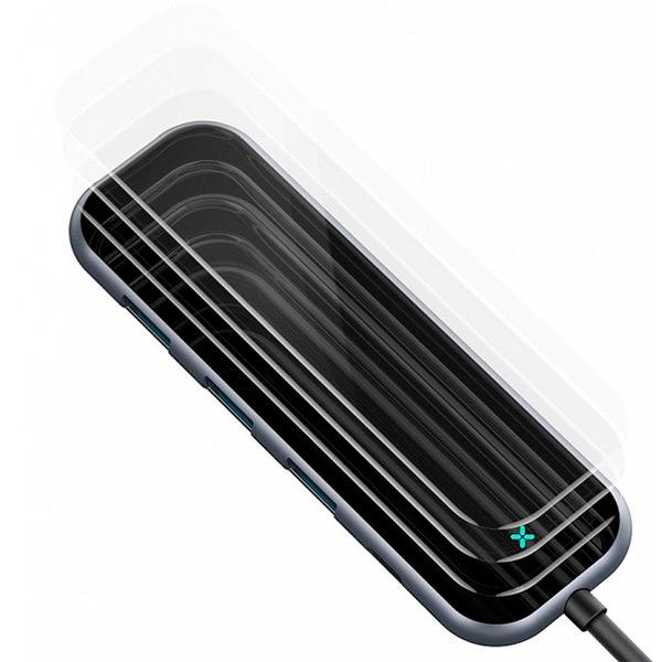 USB-концентратор Baseus Multi-functional Hub USB-C для HDMI 3 x USB 3.0 PD