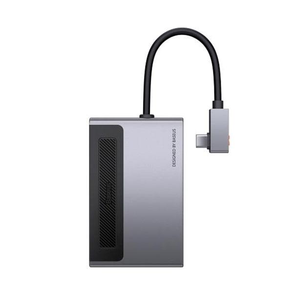 USB-хаб Baseus Magic Multifunctional Type-C HUB with a Retractable Clip Standard Edition
