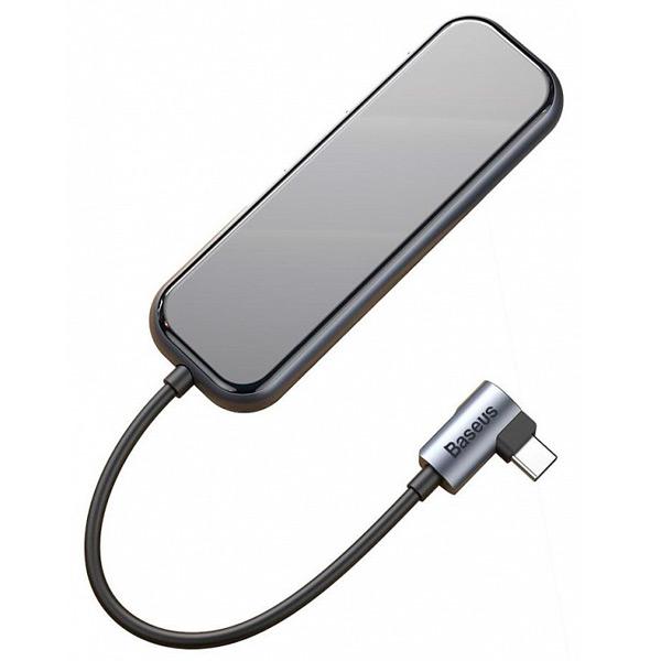 USB-концентратор Baseus Multi-functional Hub USB-C для 4xUSB 3.0, PD