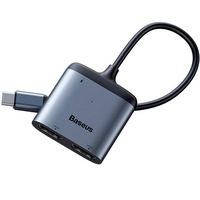 USB-концентратор Baseus Enjoyment Series USB-C to PD/2xHDMI CAHUB-I0G