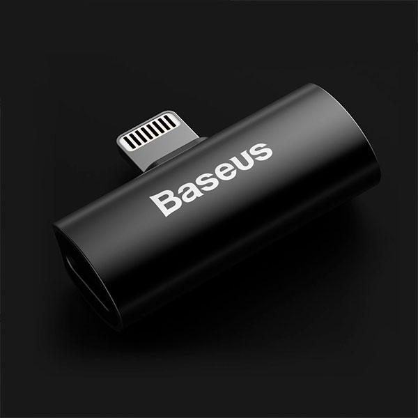 Адаптер Baseus L46 iPhone Male to Dual iPhone Female Adapters
