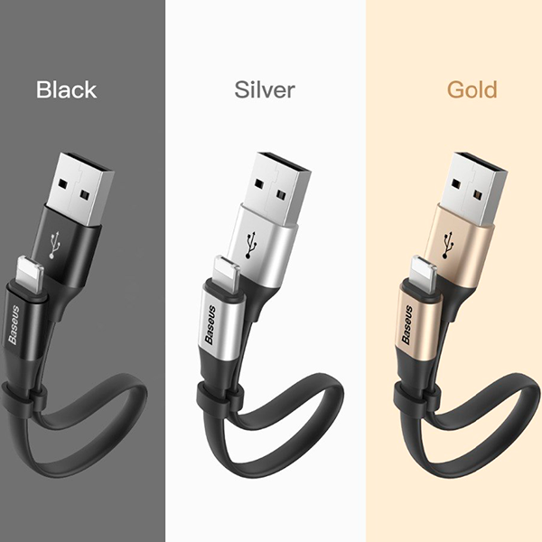 Кабель Baseus Portable Cable Lightning 2-in-1 1 М