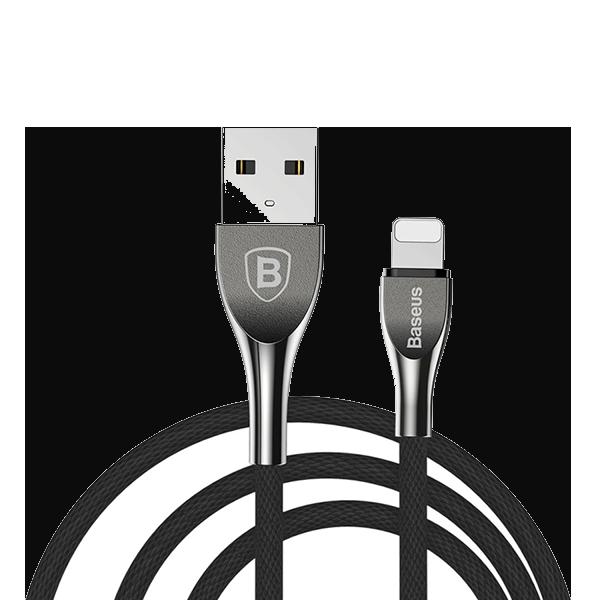 Кабель USB Baseus Mageweave Zinc Alloy Cable lightning 2A
