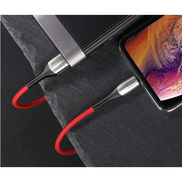 Кабель Baseus Horizontal Data Cable USB - Lightning 2 М