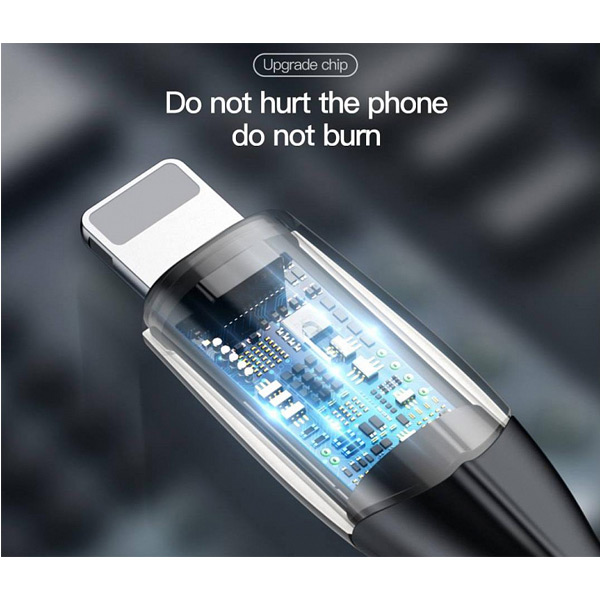 Кабель Baseus Horizontal Data Cable USB - Lightning 1 М