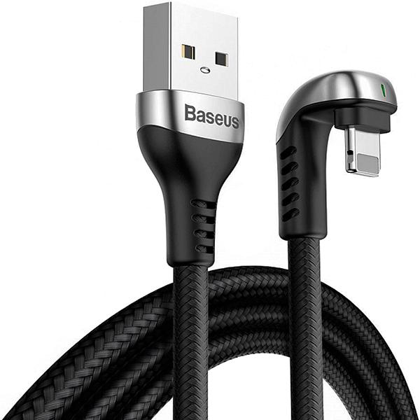 Кабель для iPhone Baseus Green U-shaped Lamp Mobile Game USB-A to Lightning 2m