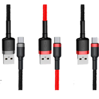 Кабель Baseus cafule Cable USB For Type-C 2A 2M