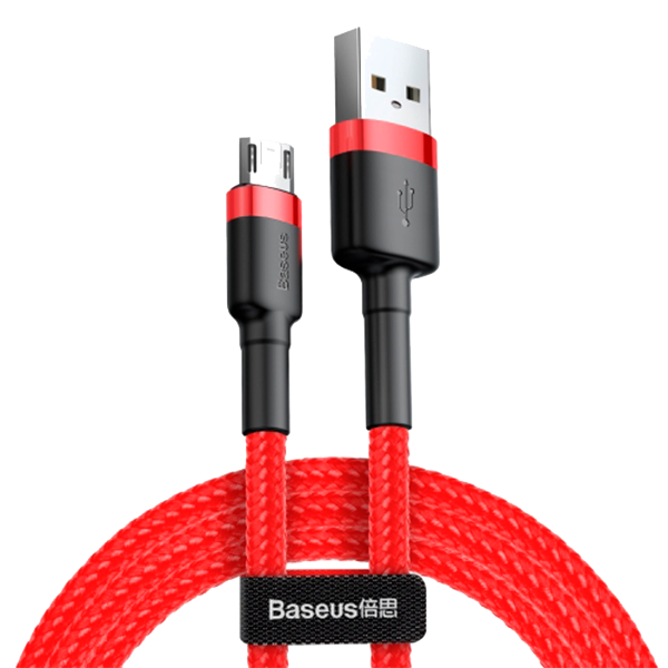 Кабель Baseus cafule Cable USB For Type-C 3A 0.5M