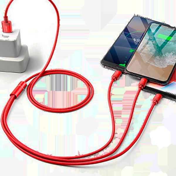 Кабель USB-Lightning, MicroUSB, USB Type C
