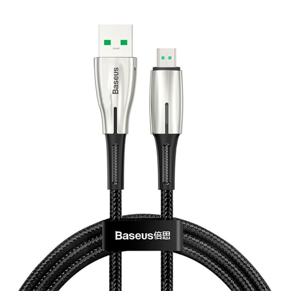 Кабель Baseus Waterdrop USB For Micro 4A 0.5m