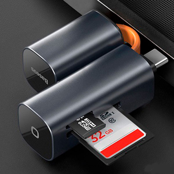Адаптер Baseus mini-cabin card reader