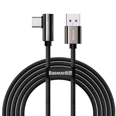 Кабель Baseus Legend Series Elbow Fast Charging USB to Type-C 66W