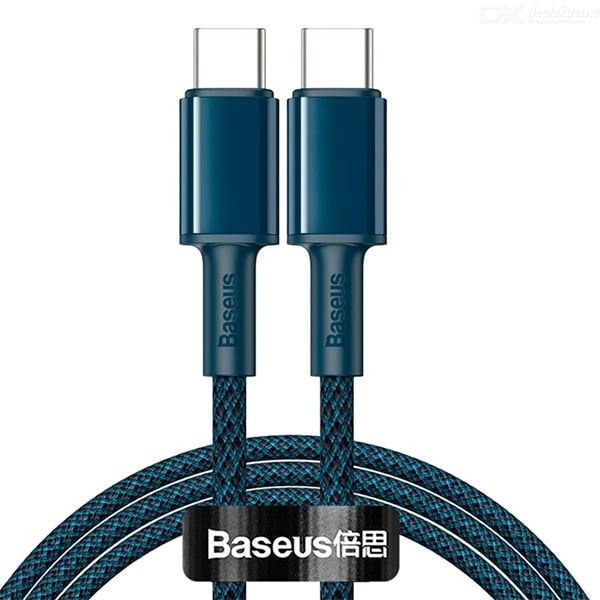 Кабель Baseus High Density Braided Data Cable Type-C to Type-C 100W 1m